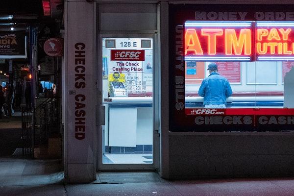 History of check cashing Illinois